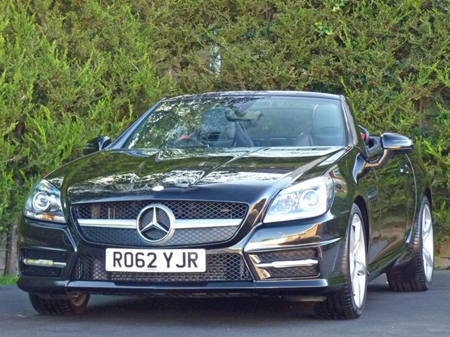 used Mercedes SLK250 CDI BLUEEFFICIENCY AMG SPORT in dorset