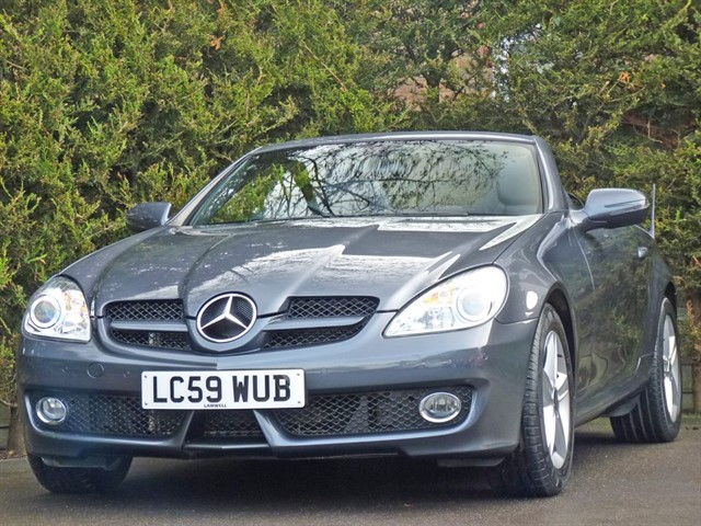 used Mercedes SLK300 3.0 V6 SPORTS AUTOMATIC CONVERTIBLE in dorset