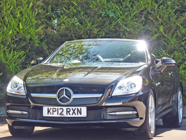 used Mercedes SLK200 BLUEEFFICIENCY AUTOMATIC in dorset