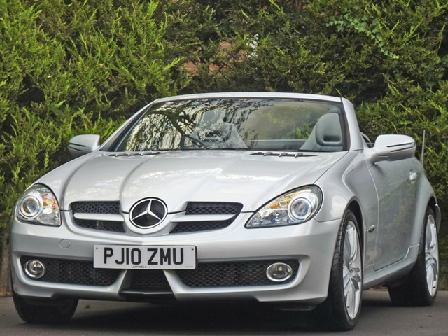 used Mercedes SLK200 KOMPRESSOR GRAND EDITION AUTOMATIC in dorset