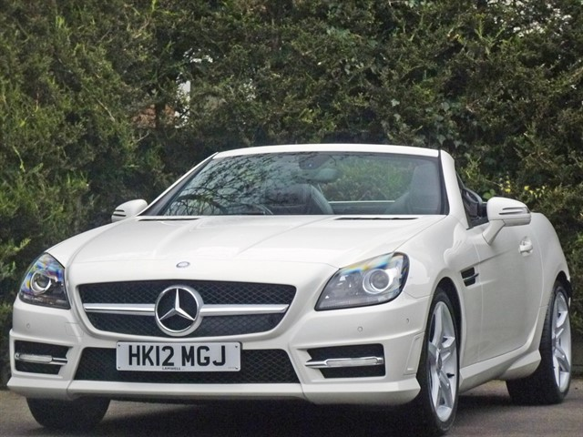 used Mercedes SLK200 BLUEEFFICIENCY AMG SPORT AUTOMATIC in dorset