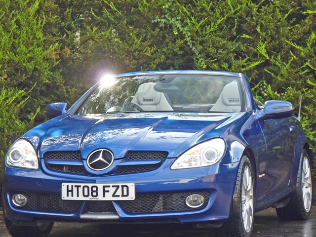 used Mercedes SLK200 KOMPRESSOR SPORTS ROADSTER in dorset