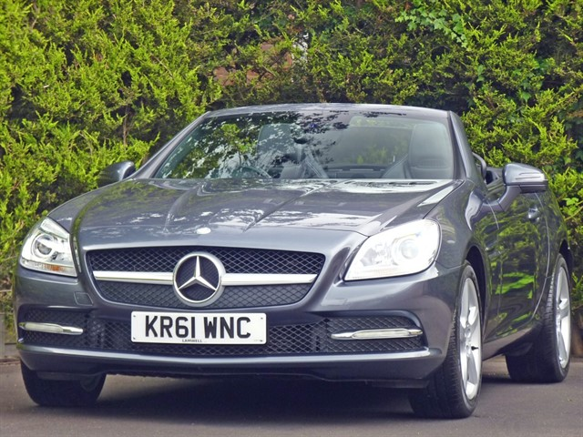 used Mercedes SLK200 BLUEEFFICIENCY EDITION 125 AUTOMATIC in dorset