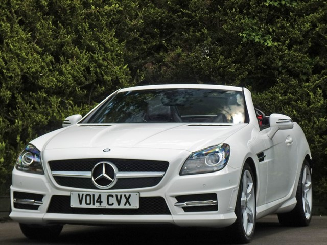 used Mercedes SLK250 2.1 CDI BLUEEFFICIENCY AMG SPORT in dorset