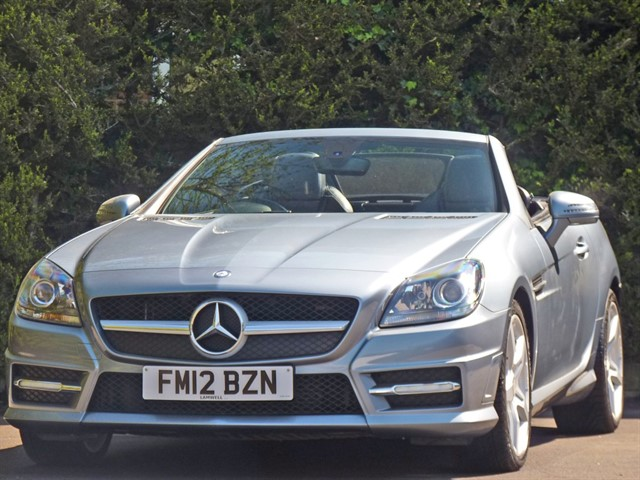 used Mercedes SLK250 CDI BLUEEFFICIENCY AMG SPORT AUTOMATIC in dorset