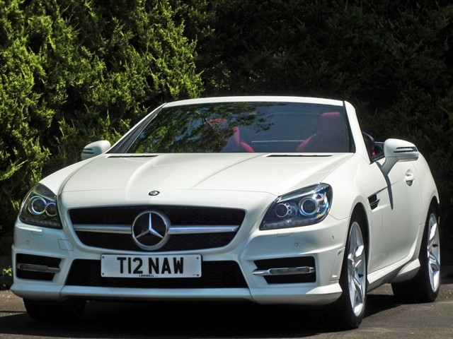 used Mercedes SLK250 2.1 CDI BLUEEFFICIENCY AMG SPORT AUTOMATIC in dorset