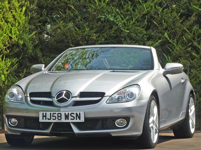 used Mercedes SLK280 3.0 V6 SPORTS ROADSTER AUTOMATIC in dorset