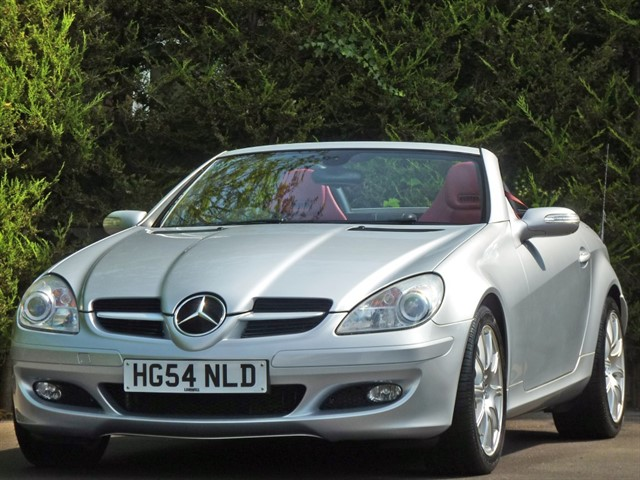 used Mercedes SLK350 SPORTS ROADSTER AUTOMATIC in dorset