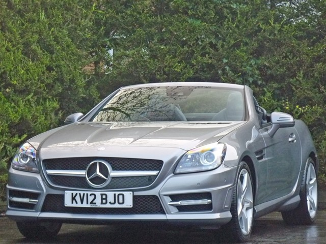 used Mercedes SLK350 BLUEEFFICIENCY AMG SPORT AUTOMATIC in dorset