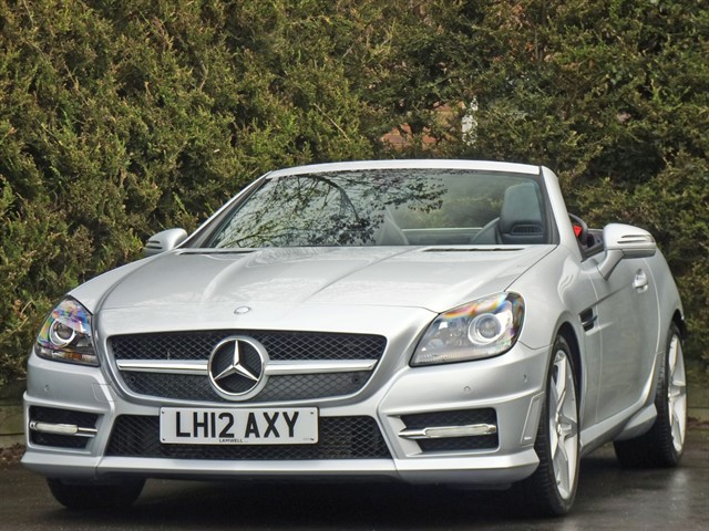 used Mercedes SLK200 BLUEEFFICIENCY AMG SPORT in dorset