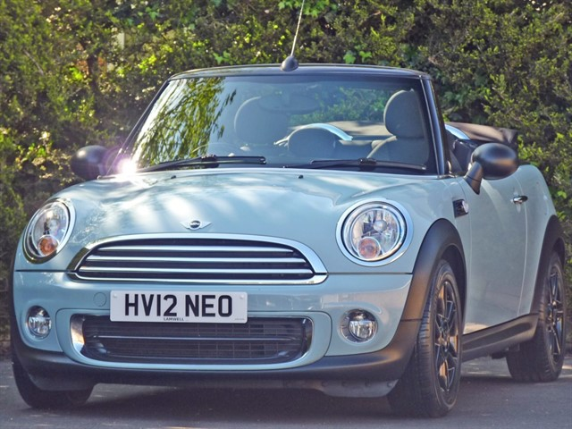 used MINI Convertible 1.6 ONE in dorset