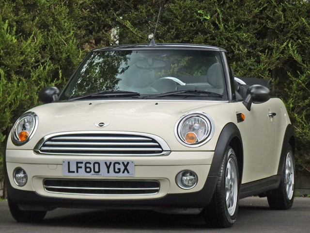 used MINI Convertible ONE in dorset