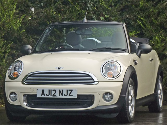 used MINI One 1.6 CONVERTIBLE in dorset