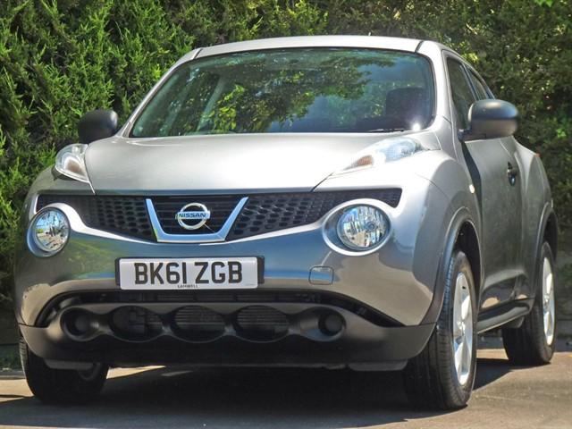 used Nissan Juke VISIA in dorset