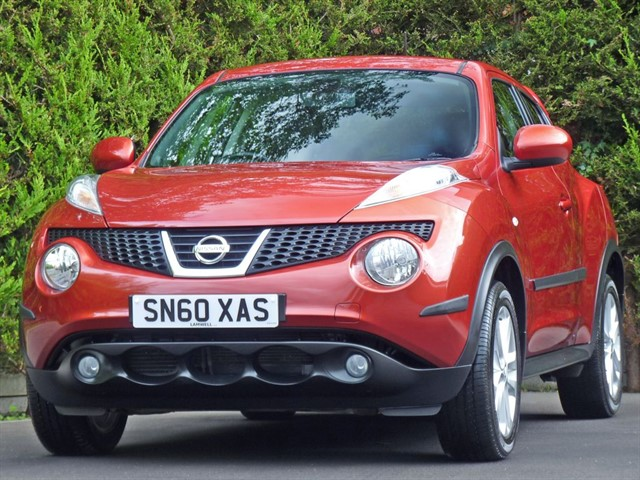 used Nissan Juke 1.6 TEKNA AUTOMATIC in dorset