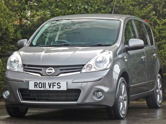 used Nissan Note N-TEC in dorset