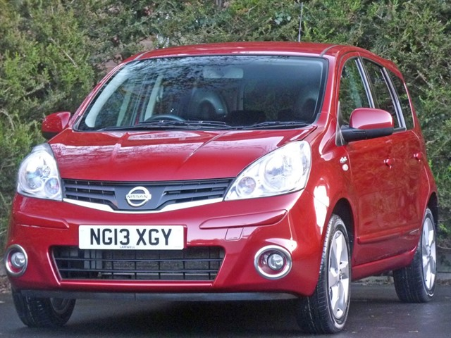used Nissan Note N-TEC PLUS in dorset