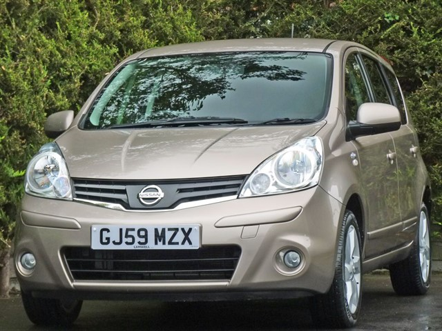 used Nissan Note N-TEC AUTOMATIC in dorset
