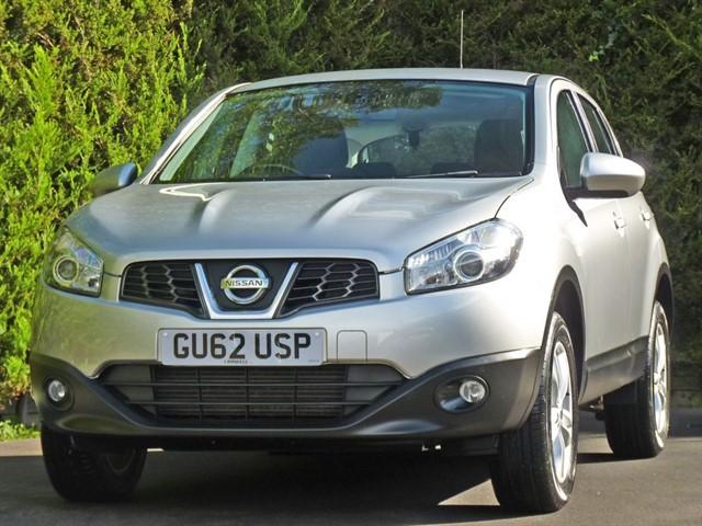 used Nissan Qashqai 1.5 DCi ACENTA in dorset