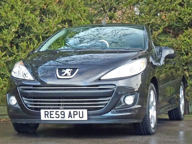used Peugeot 207 1.6 SPORT COUPE CONVERTIBLE in dorset