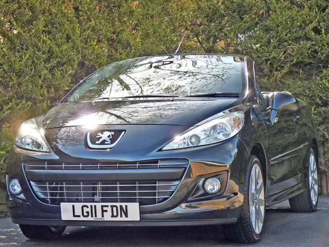 used Peugeot 207 CC GT COUPE CONVERTIBLE in dorset