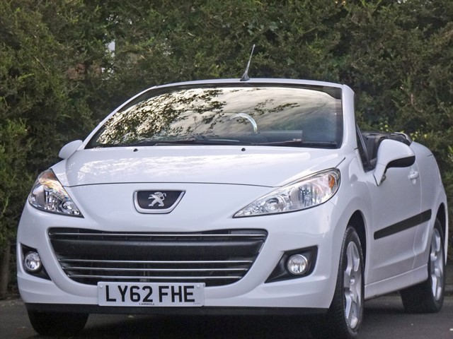 used Peugeot 207 CC CC ACTIVE in dorset