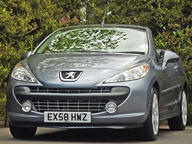 used Peugeot 207 CC 1.6 GT COUPE CABRIOLET in dorset