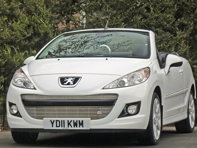 used Peugeot 207 CC GT AUTOMATIC in dorset