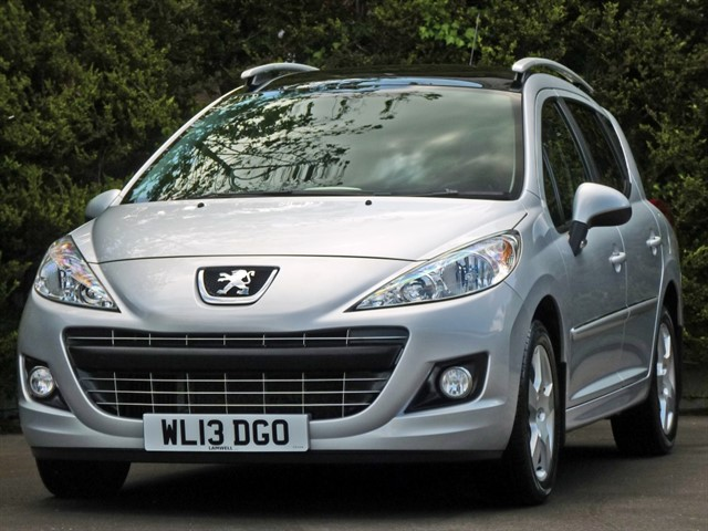 used Peugeot 207 SW 1.6 HDI ALLURE in dorset