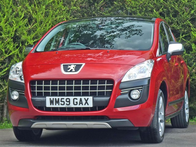 used Peugeot 3008 1.6 EXCLUSIVE in dorset