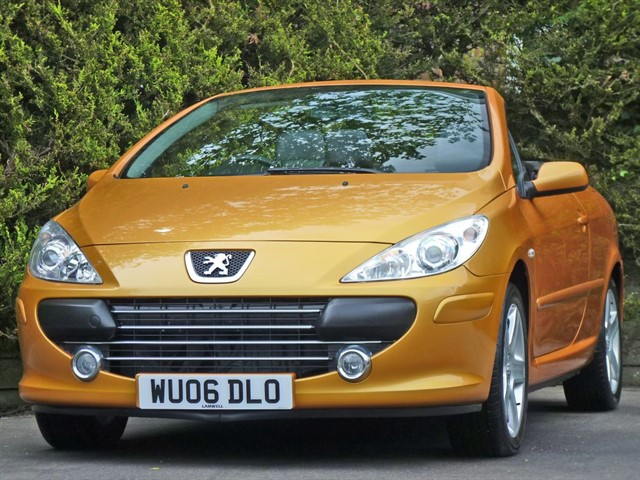 Peugeot 307 CC for sale