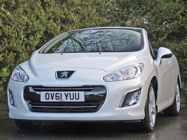 used Peugeot 308  CC 2.0 HDi ALLURE in dorset