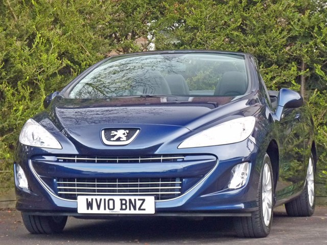 used Peugeot 308 CC 1.6 SPORT COUPE CONVERTIBLE in dorset