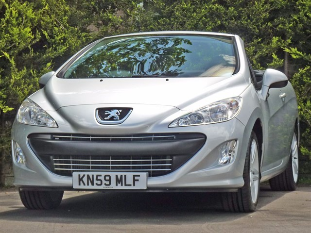used Peugeot 308 CC 1.6 SE COUPE CONVERTIBLE in dorset