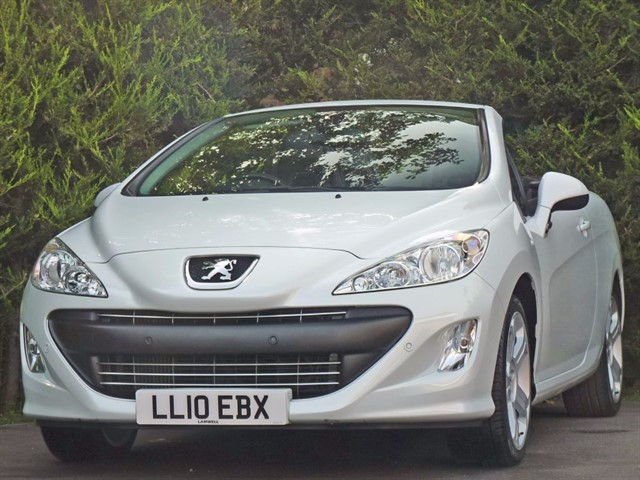 used Peugeot 308 CC 1.6 GT THP COUPE CONVERTIBLE in dorset
