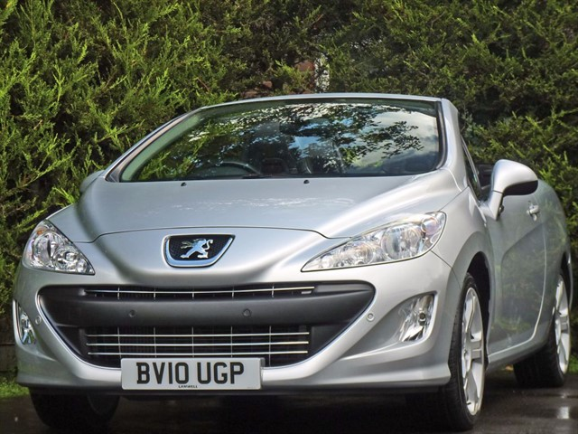 used Peugeot 308 1.6 GT COUPE CONVERTIBLE  in dorset