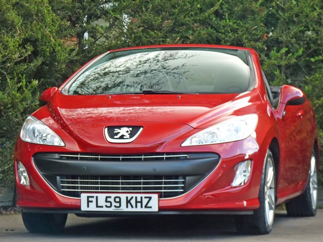 used Peugeot 308 CC 1.6 SE COUPE CONVERTBLE in dorset