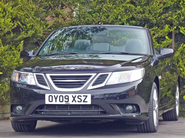 used Saab 9-3 1.9 TID VECTOR CONVERTIBLE in dorset