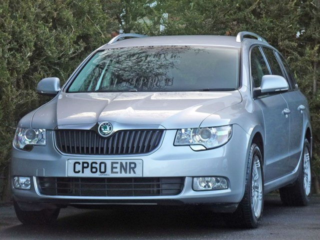 used Skoda Superb 1.9 SE TDI ESTATE in dorset