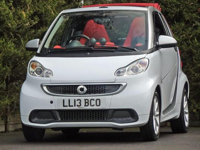 used Smart Car Fortwo Cabrio 1.0 PASSION AUTO in dorset