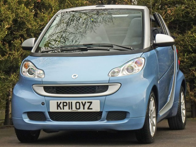 used Smart Car Fortwo Cabrio PASSION AUTO CONVERTIBLE in dorset