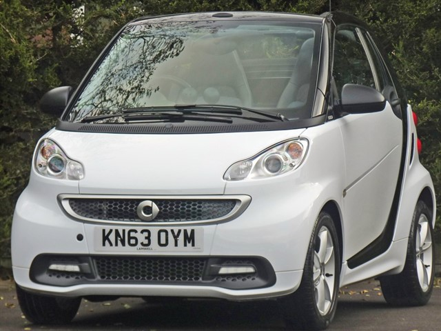 used Smart Car Fortwo Cabrio EDITION 21 MHD AUTOMATIC CONVERTIBLE in dorset