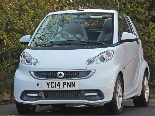used Smart Car Fortwo Cabrio EDITION 21 MHD in dorset
