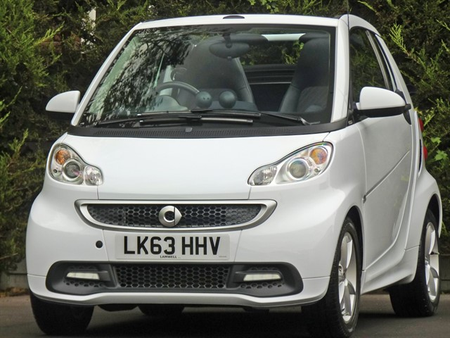 used Smart Car Fortwo Cabrio EDITION 21 AUTOMATIC CONVERTIBLE in dorset