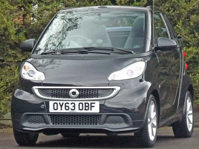 used Smart Car Fortwo Cabrio PASSION MHD in dorset