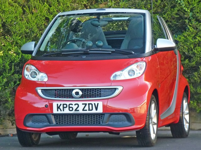 used Smart Car Fortwo Cabrio 1.0 PASSION AUTOMATIC in dorset