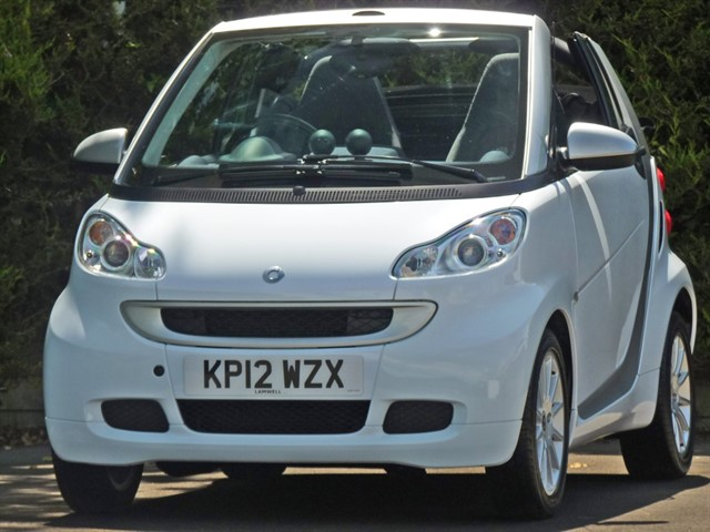 used Smart Car Fortwo Cabrio PASSION AUTOMATIC CONVERTIBLE in dorset