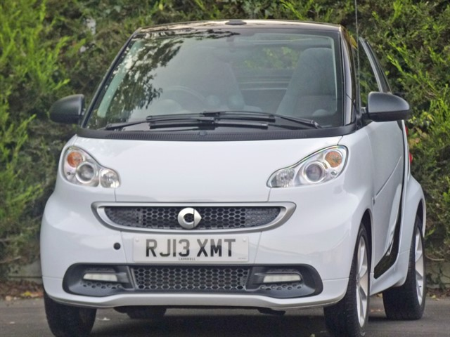 used Smart Car Fortwo Cabrio PASSION AUTOMATIC in dorset