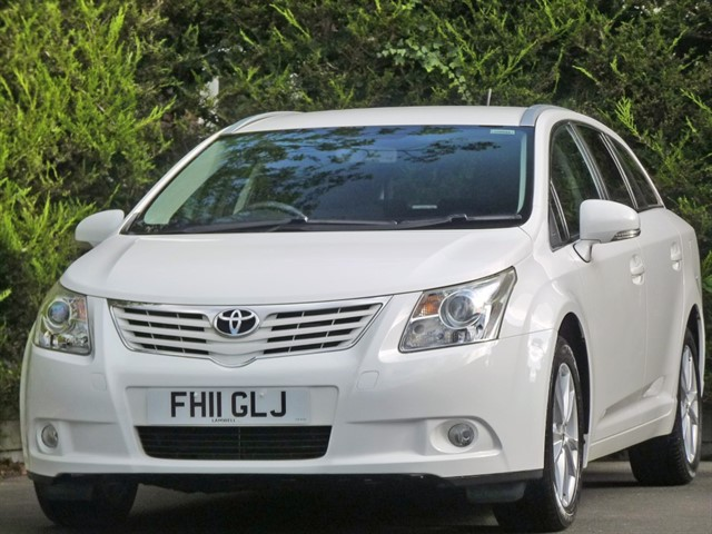 used Toyota Avensis VALVEMATIC TR in dorset