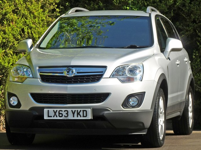 used Vauxhall Antara 2.2 CDTi DIAMOND 4X4 in dorset